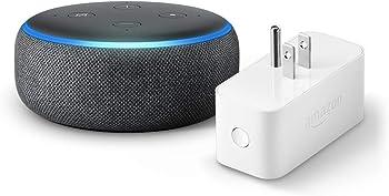 Amazon Echo Dot 3rd Generation Smart Speaker + Amazon Smart Plug