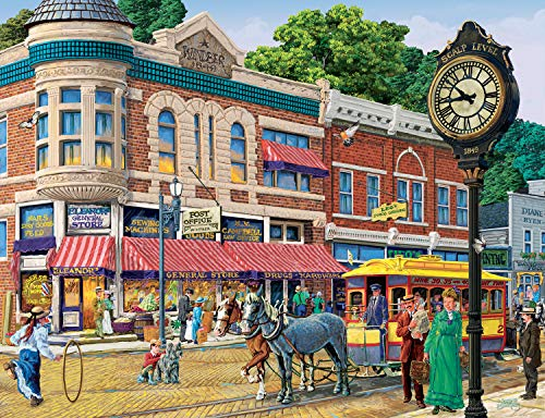Ravensburger Ellens General Store 2000 Piece Jigsaw Puzzle for Adults – Softclick Technology Means Pieces Fit Together Perfectly