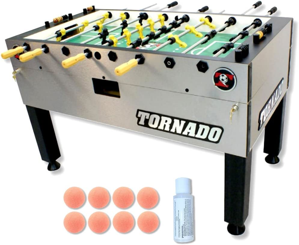 Tornado torneo 3000 futbolín mesa con libre accesorio Bundle: Amazon.es: Deportes y aire libre
