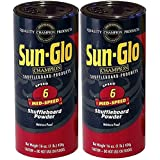 Twin Pack of Sun-Glo #6 Speed Shuffleboard Powder Wax