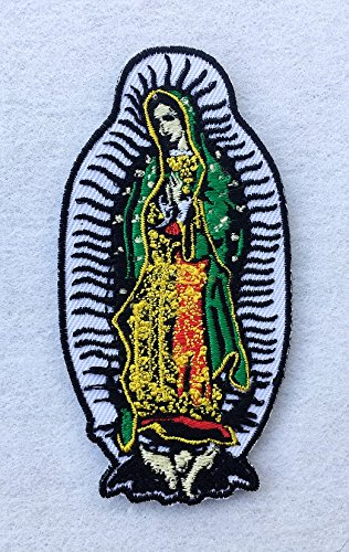 Amazon Our Lady Of Guadalupe Mary Mexico Symbol Embroidered