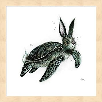 Amazon.com: Torthair by Sharlena Wood Fine Art Print with Wood Box ...