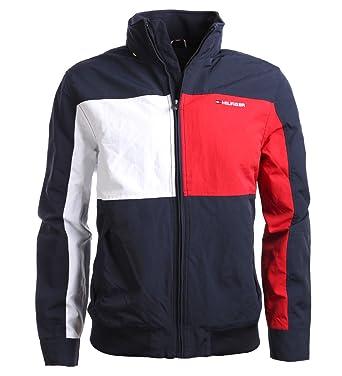 Tommy Hilfiger Herren Jacke, Men s Signature Jacket, Large  Amazon ... 8456d6f57e