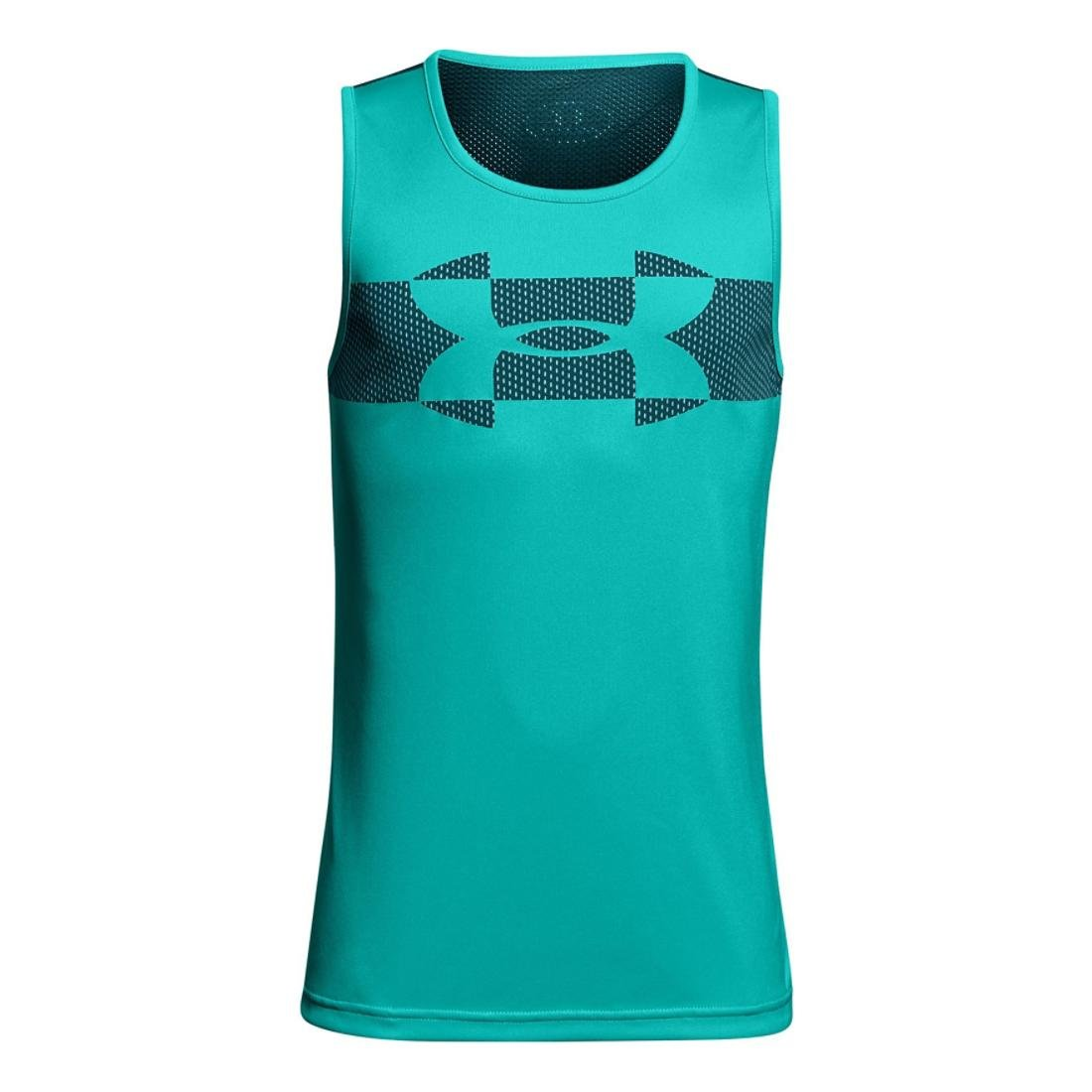 Under Armour ボーイズ テックタンク YL Teal/Teal/Teal B07FXTL5DW