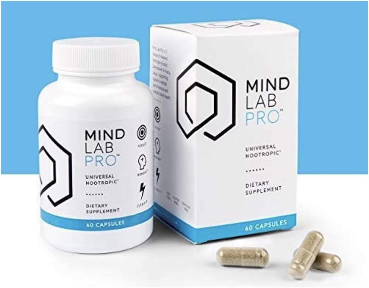 Mind Lab Pro – Brainpower – Enhanced Memory Focus Clarity – Full Spectrum Nootropics – Whole-Life Mental Performance