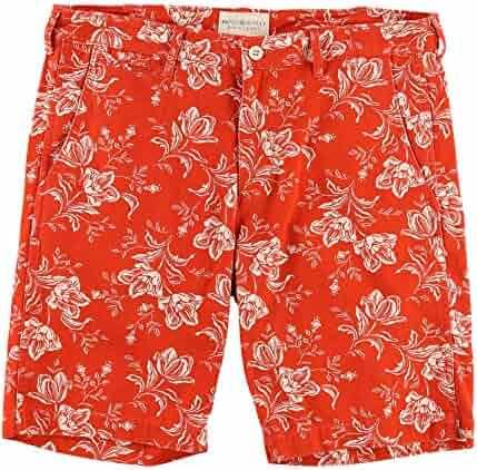 b22e52505 Denim   Supply Ralph Lauren Men s Slim Fit Floral-Print Cotton Chino Shorts