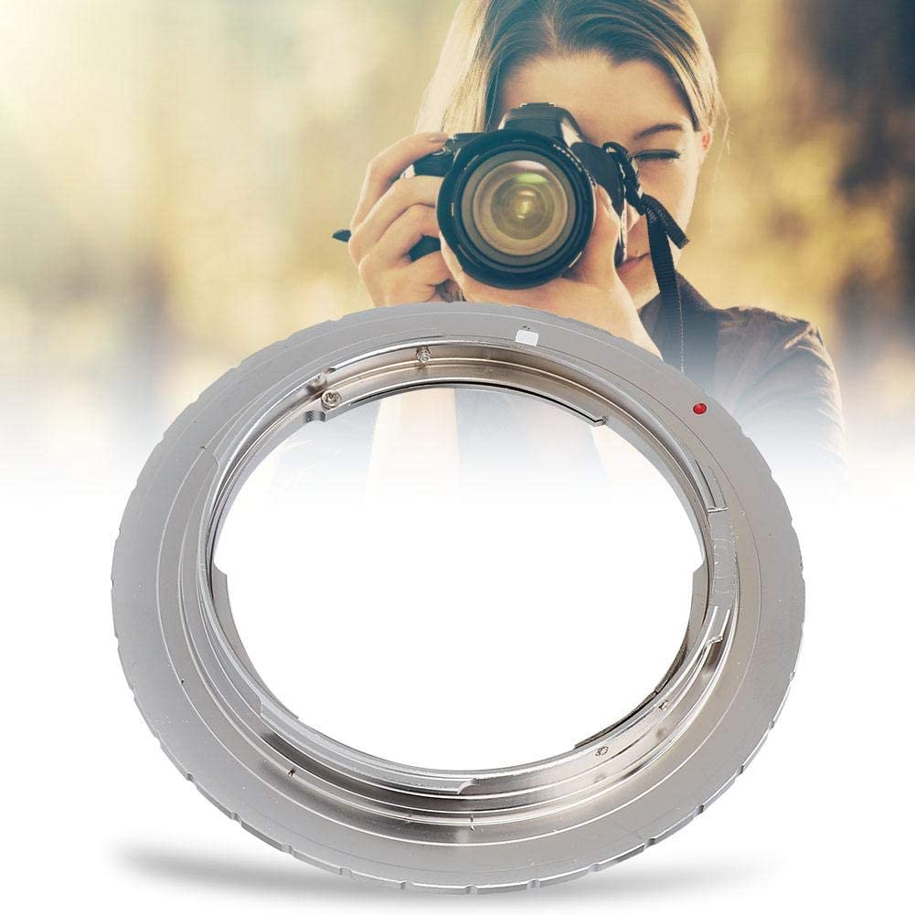Copper Adapter Ring with Manual Focus. Vbestlife Manual Focus Lens Adapter Ring for YC CY CO//Y Lenses That fit The Canon EOS EF Mirrorless Camera