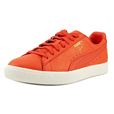 Puma Clyde Dressed Men US 7 Red Sneakers c30fd9a19