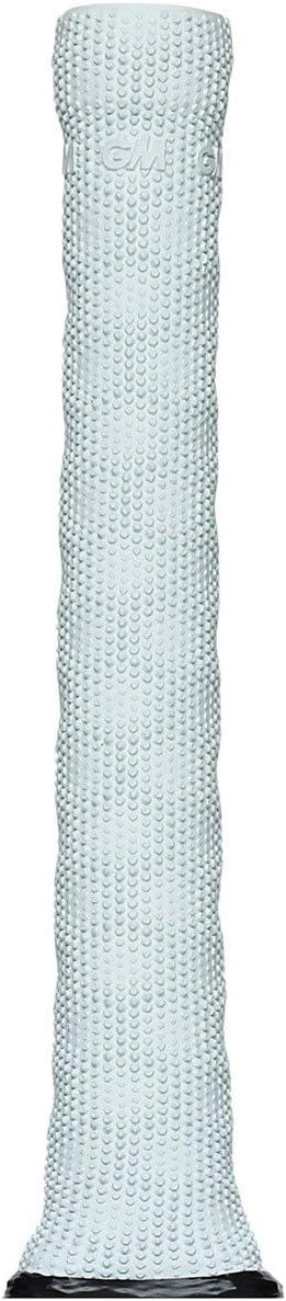 Full Size Eclipse Grey /& ICON White Gunn /& Moore GM Premium HEX Cricket Bat Handle Grip
