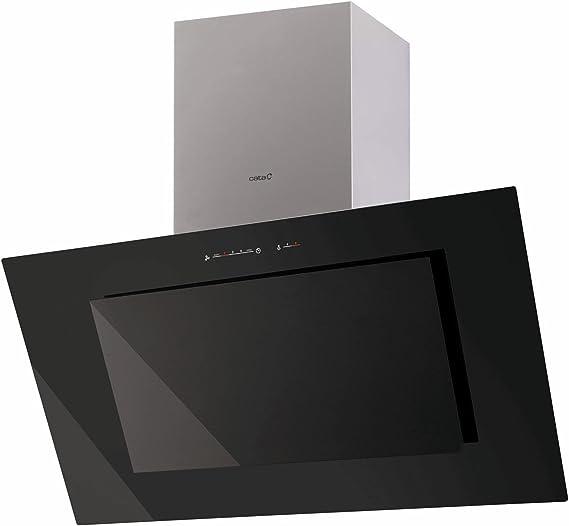 CATA 02059201 - Campana Titan BK (Canalizado, A, A, B, 64 dB, 750 m³/h), Negro: 324.28: Amazon.es: Grandes electrodomésticos