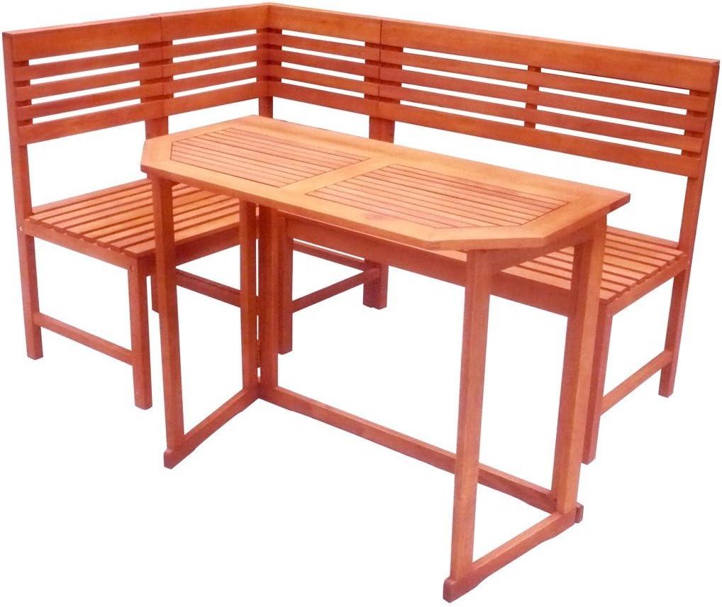 Garden Pleasure Balkontisch Santa Fe Eukalyptus Holz Balkon Garten Tisch