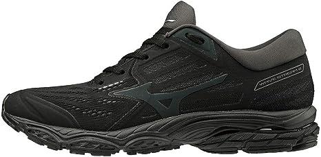 mens mizuno running shoes size 9.5 eu woman for everything black