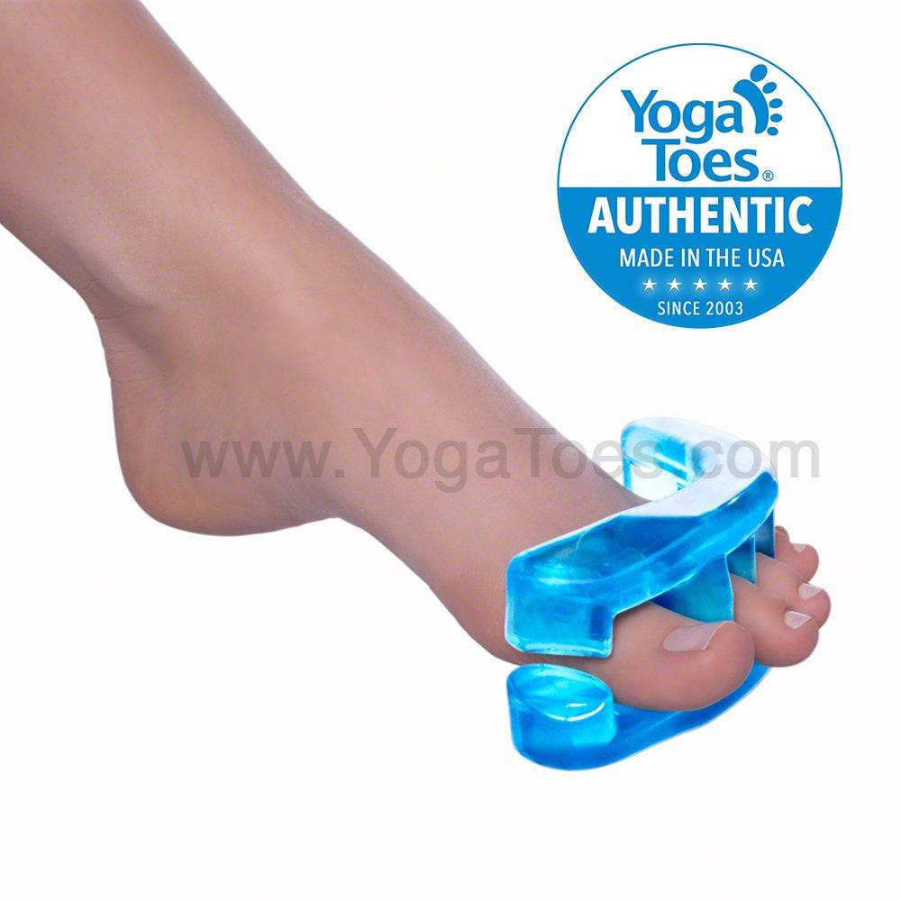 Amazon.com: Original Medium Sapphire Blue YogaToes: Health ...