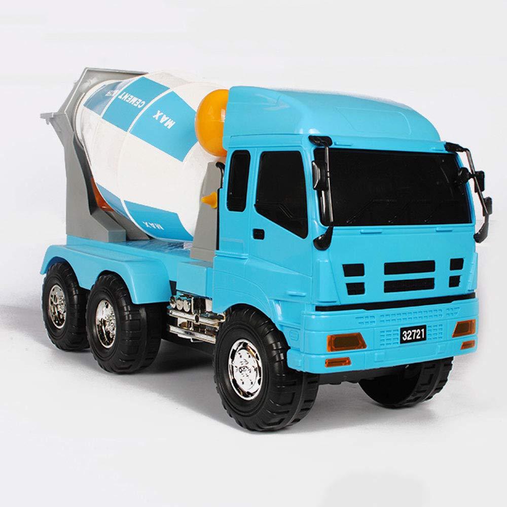 Mogicry Inercia Grande Hormigonera camión Cisterna de Cemento Inercia Vehículo de ingeniería Niños Regalo de Juguete Grande niños y niñas Regalo de cumpleaños para niños 3+