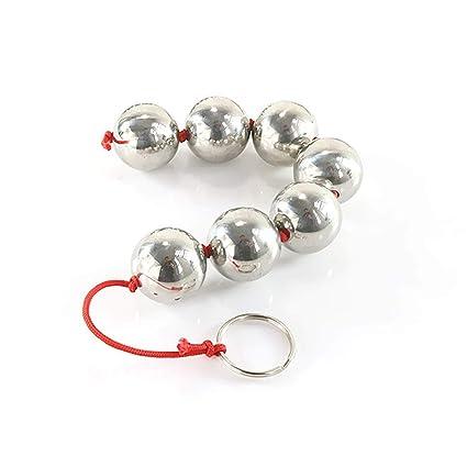 Amazon.com: Female Vagina Anus Stimulator Metal Anal Beads ...