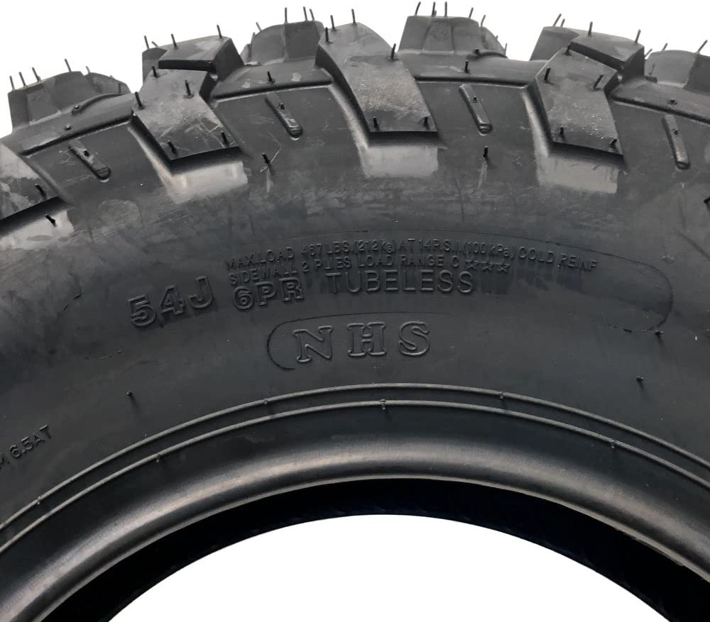 Set de dos neumáticos sin cámara 25 x 8 – 12 (P332) se ajusta ...