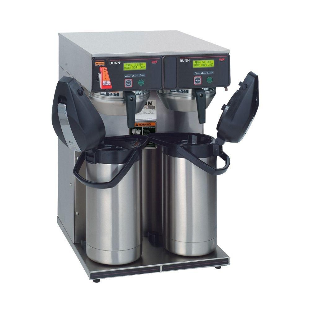 Bunn 38700.0013 Axiom Twin APS Airpot 15-Gallon Coffee Brewer (120/240V)