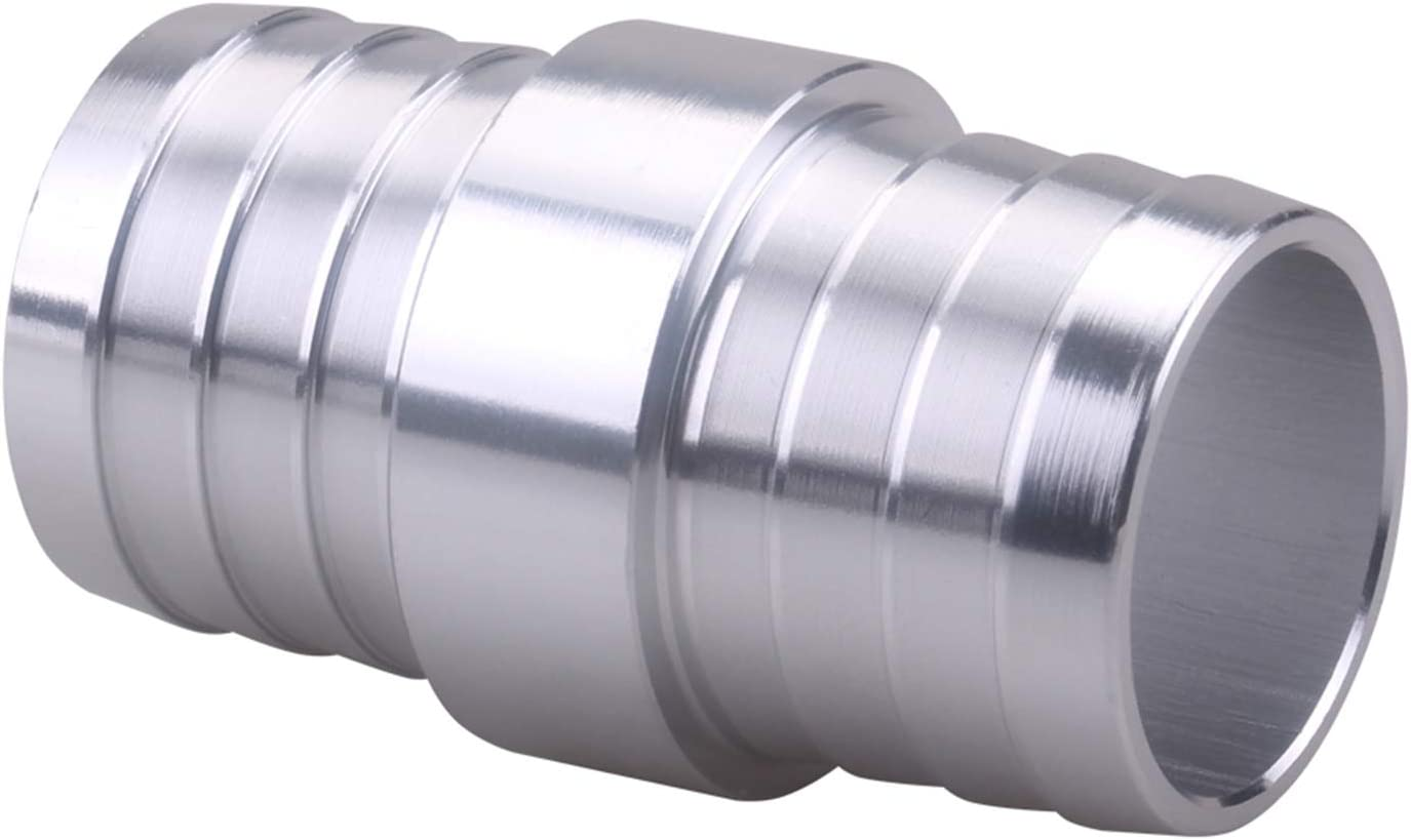 RuleaxAsi Radiator Hose Barb Coupler with 1//8in NPT Port 1-1//4in Steam Tube Adapter Replacement for LS Swap Steam//Coolant Crossover Splice Billet Aluminum AN627-20X125