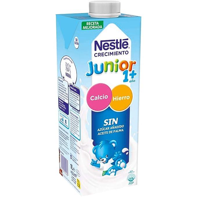 Nestlé Junior 1+ Original - Leche para niños a partir de 1 año - 6x1L
