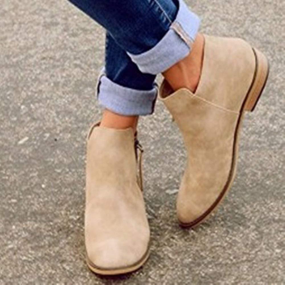 HhGold Flache Schuhe Der Flachen Schuhe Der Großen Frauen Der Frauen Flachen (Farbe   Khaki Größe   37)