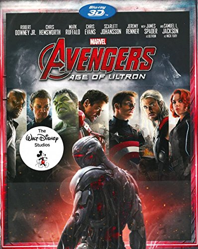 Marvel's The Avengers Age Of Ultron 3D (Blu-Ray) (Marvels Avengers 3d Blu Ray compare prices)