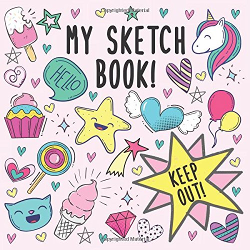Download My Sketch Book: 100 Paged Sketch, Doodling, Drawing Book For Girls ebook