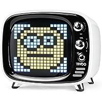 Divoom Tivoo Retro Bluetooth luidspreker - Pixel Art DIY Box, RGB programmeerbaar 16X16 LED, ondersteuning Android & iOS…