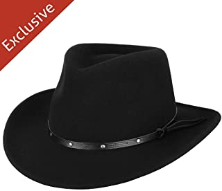 product image for Hats.com Gallivanter Outback Hat - Exclusive Black, Small