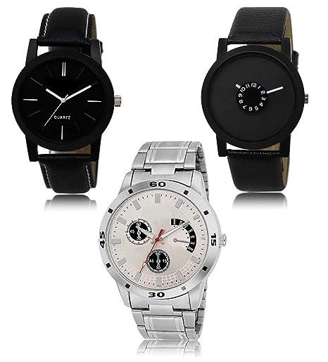 Carte Black Cmb.Buy The Shopoholic Analogue Multicolor Dial Mens Watch Wat Lr 05 25