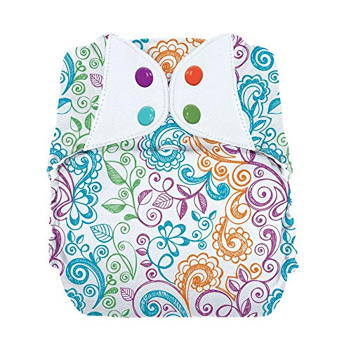 - bumGenius Big: Baby and Toddler One-Size Pocket Cloth Diaper - Fits 35-70 Pounds (Lovelace)