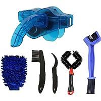 Dätenky Fietsreinigingsborstel, multifunctioneel, universeel, voor fietsketting, zwengels, banden, kettingbladen, hoeken…