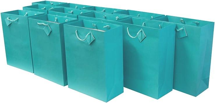Amazon.com: 10 x 5 x 13 pulgadas, 12 piezas. Bolsas de ...