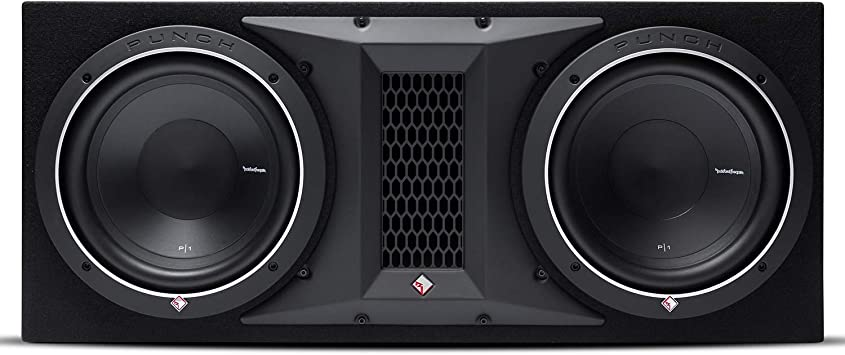 Rockville Vented Sub Box Enclosure for Rockford Fosgate P1S2-10 10 Subwoofer