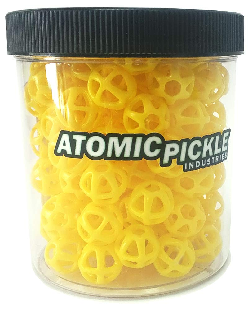 Atomic Pickle Industries ATOM6 Projectiles (Yellow) by Atomic Pickle Industries