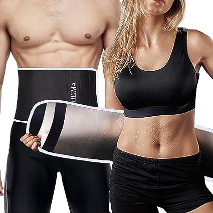 r/églable ceinture abdominale pour homme Fitness ceinture abdominale minceur ceinture amincissante acc/él/ère la combustion Ceinture de sudation