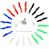 Coolplay Syma X11 X11C X13 for RC Quadcopter Full Set Spare Parts Main Blade Propeller & Motors & Main Gear Set with Shaft & Mounting Screws – Upgraded 5 Colors