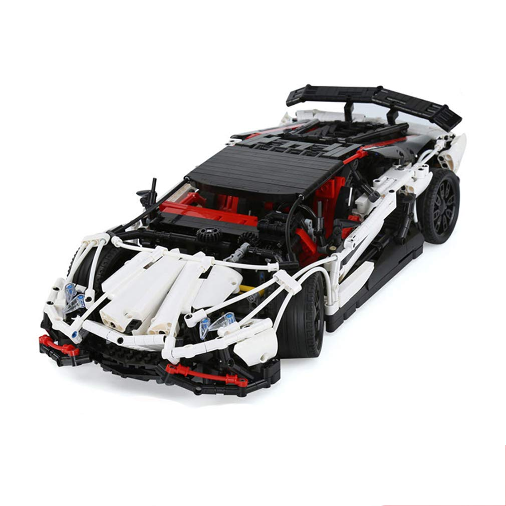 P1027 3d DIY 3d パズル 2838 PCS White ビルディングレンガテクニックおもちゃ、スーパースポーツカービルディングブロック子供のおもちゃ子供の休日の贈り物 White B07QMHW339 B07QMHW339, でん吉:c28819d6 --- m2cweb.com