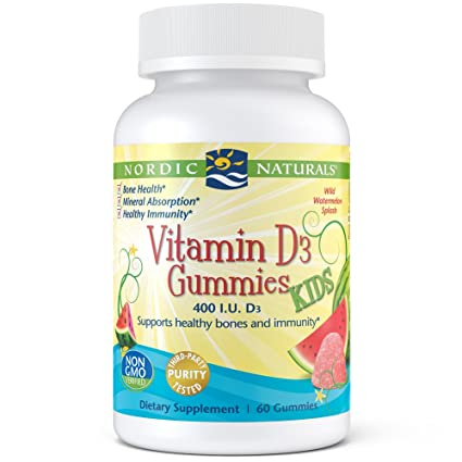 Nordic Naturals - Vitamin D3 Kids Gummies, Supports Healthy ...