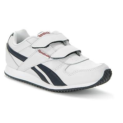 222538c5bd8 Reebok Royal CL Jogger 2V Classic Klett Kinderschuhe Sneaker weiß blau