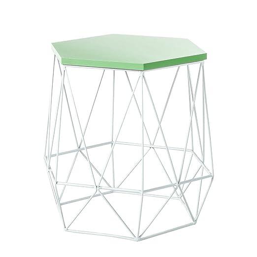 Metall Beistelltisch Couchtisch Tisch Ablage Sofatisch Nachttisch