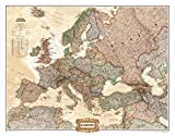 Europe Executive Wall Map Map Type: Enlarged Size (36''H x 46''W)