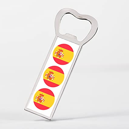 Compra Spain Flag Bandera Española España Abrelatas imán para refrigerador en Amazon.es