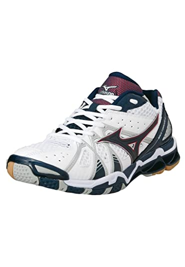 Mizuno Men s Wave Tornado 9 Volleyball Shoes White whtnavychinesered  Size 41 (EU) d580d7f5a30
