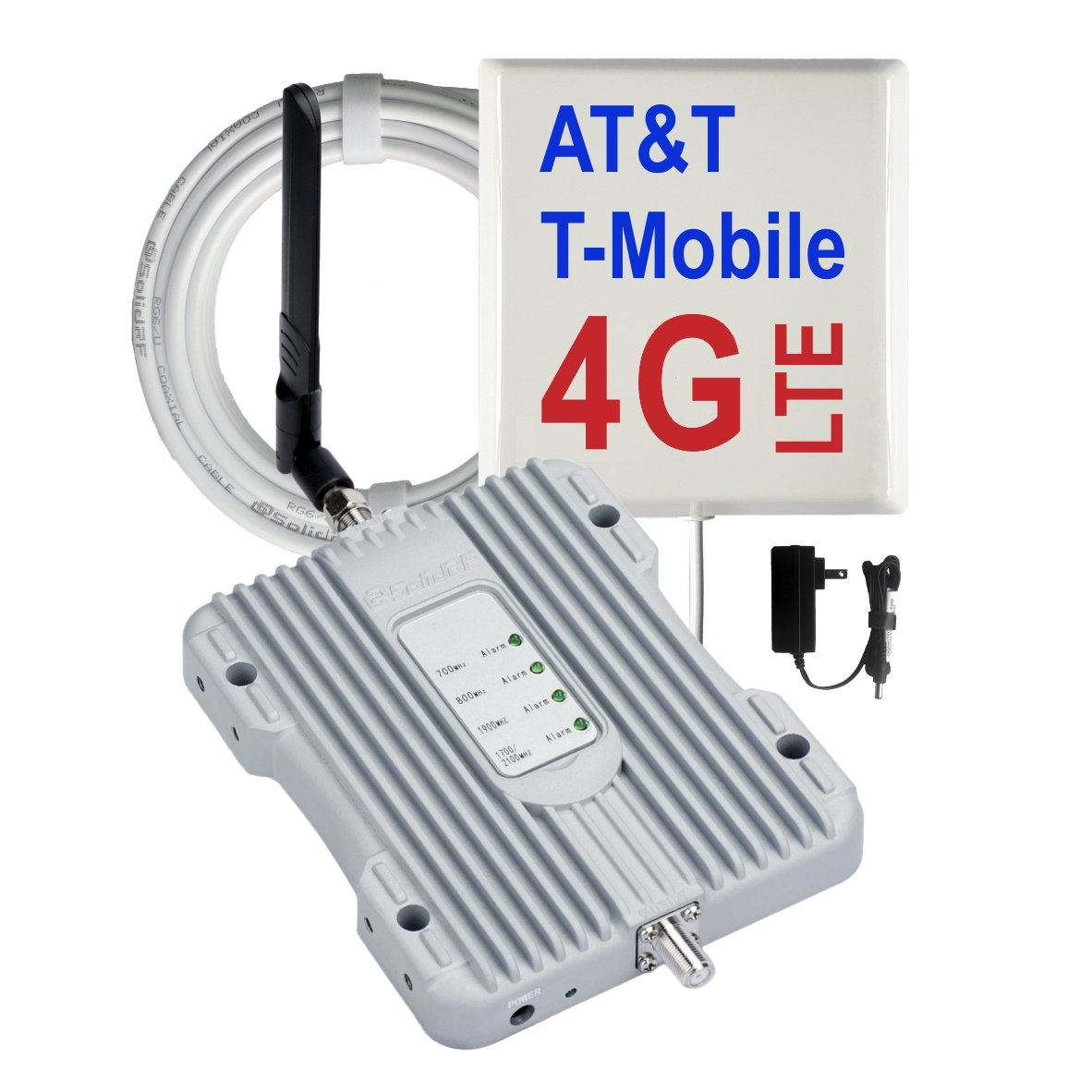 SolidRF SohoHome S1 AT&T T-Mobile 4G LTE Five Bands Cell Phone Boosters For Home Office For All Carriers