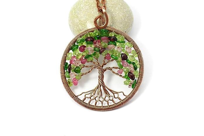 Amazon.com: Tree-Of-Life Necklace Pendant Tree-Of-Life Jewelry ...