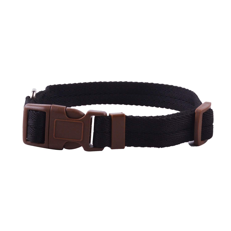 Collar Correa Perro Mascota FONLAM Arn/és para Perro Gato Cachorro Pechera Arn/és de Seguridad L, Negro