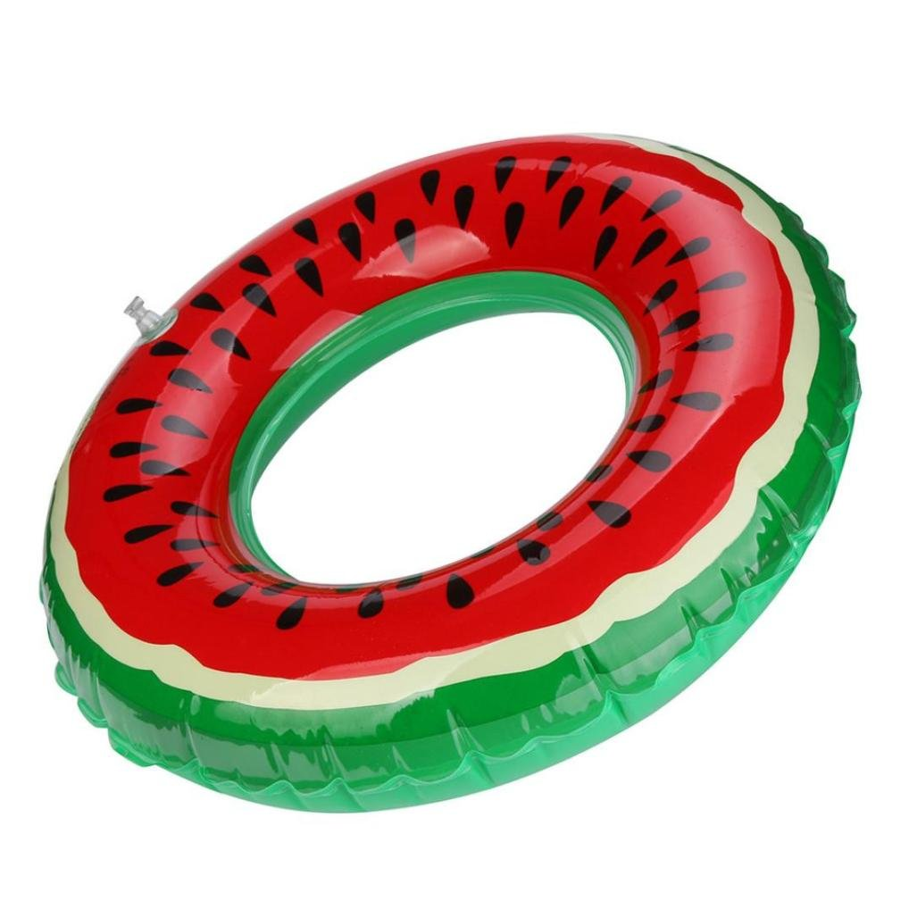 mntech nuevo caliente piscina inflable flotador adulto sandía fruta flotador, Rojo: Amazon.es: Deportes y aire libre