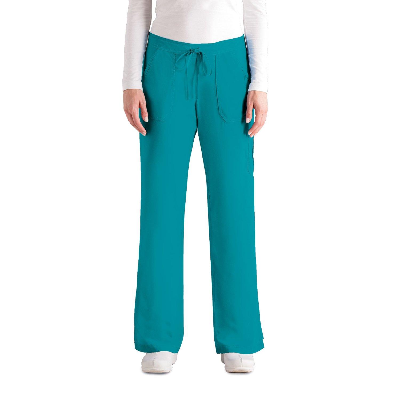 Greys Anatomy Womens 4 Pocket Elastic Image 2