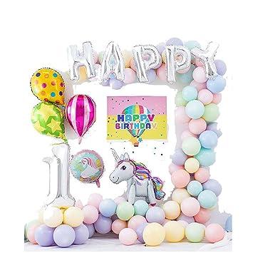 Decoraciones Del Partido De Cumpleaños Del Unicornio For ...