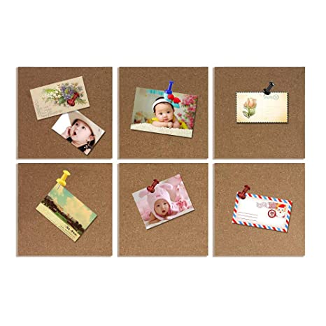 Amazon.com: casefan corcho Board Azulejos 8 x 8